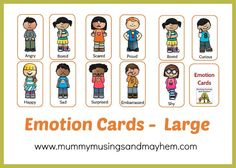 Social and Emotional Skills - Strategies and activity ideas for early years teachers, parents and home daycare. Includes free game printables and templates. See them all at Mummy Musings and Mayhem!