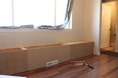 diy benches for a breakfast nook