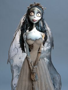 Corspe bride  my daughter wants to be this for Halloween~                                    she will have to cover up for sure~
