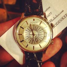 Le Coultre World Time