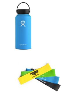 Water Bottle & Bands are essential must-haves! Stay on the road with these Suspension Trainer, Macros, Travel Essentials, No Equipment Workout, Stay Fit, Bands, Water Bottle, Muscle, Wellness