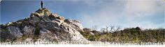 Rocky outcrop on the West Coast of Tasmania