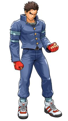 Batsu Ichimonji,Tatsunoko vs. Capcom: Ultimate All-Stars. I like this drawing of him by the awesome Shinkiro. If you look closely, you can see Batsu's nipple bulge, hehe. :3