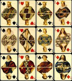 """Игральные карты  """"Великие герцоги Тосканы"""", репринт, Lo Scorobeo, Италия"""