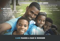 Dads are heroes in the Dove Men + Care Father's Day video | sponsor