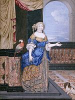 MARQUISE DE MONTESPAN (1641-1707), Francoise-Athénaïs de Rouchechouart-Mortemart,  17th C, attributed to either Louis de Chatillon or Pierre Mignard