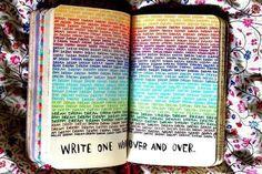 Идеи для Wreck this journal / Уничтожь меня WTJ