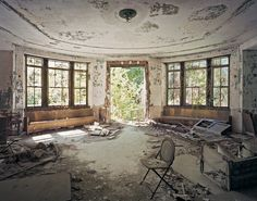 Abandoned North Brother Island in New York
