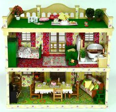 Luxury Sylvanian Families Cath Kidston Decorated Furnished Vintage Manor  House By *fistuff* | EBay