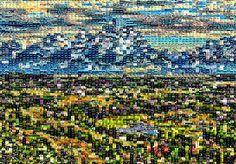 Studio Artist - Factory Settings - Mosaic Movie Brush - Graffiti City Photo, Graffiti, Mosaic, Studio, Artist, Image, Mosaics, Artists, Studios