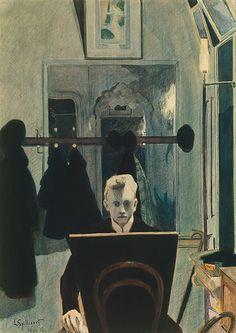 Léon Spilliaert, Zelfportret, 1907