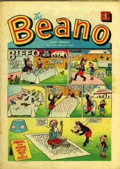 Beano Comic - A  British comic popular in the 1960's