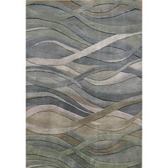 Shop for Alliyah Handmade Grey/Green New Zealand Blend Wool Rug (5' x 8'). Get free shipping at Overstock.com - Your Online Home Decor Outlet Store! Get 5% in rewards with Club O!
