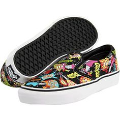 Vans Kids - Classic Slip-On (Toddler/Youth)2