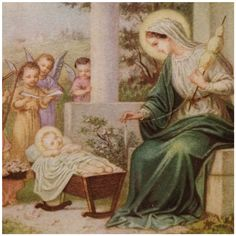 Madonna with the sewing basket -