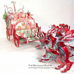 Jim Hankins is our guest designer this month on the Sizzix blog. He created this amazing dimensional decor piece using Sizzix dies. Be sure to visit our blog for a link to download the full instructions! http://sizzixblog.blogspot.com/2012/11/die-cutting-paper-filigree-reindeer.htmlhttp://sizzixblog.blogspot.com/2012/11/die-cutting-paper-ho-ho-ho-christmas.html