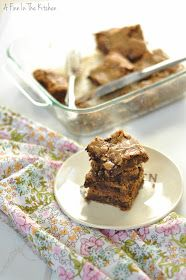 A Finn In The Kitchen: Chewy Toffee Chocolate Blondies