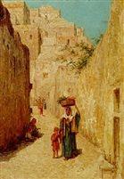 Walter Frederick Roofe -   a tunisian backstreet