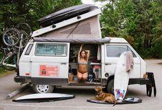 Living the VanLife as Digital Nomads in a VW Westfalia (Utilitarian Vehicle) Vw Bus, Vw Camper, T3 Vw, Volkswagen Westfalia, Sony A7s Ii, Cargo Van, Live Your Life, Digital Nomad, Campervan