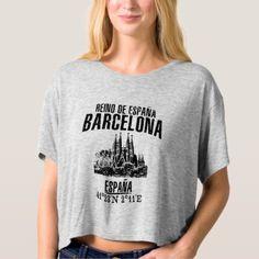 Barcelona T-shirt - retro gifts style cyo diy special idea