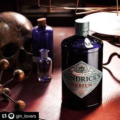 #Repost @gin_lovers with @repostapp  Hendrick's Orbium is the latest addition to the world of Gin. The Cucumber gave prominence to Quinine the heart of tonic water but also Wormwood a Blue Lotus Blossom in a spirit diluted to 43.4% of alcohol. Very few is known about this new version of Hendricks. All we can say is that it will only be available in this first phase in 30 bars selected from the city of London. We'll give you more news soon. Now it's time to book the flight...
