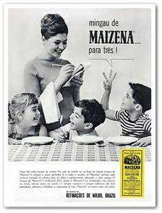 Propaganda antiga de Maizena