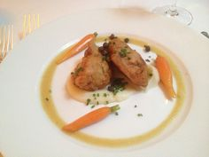 Les Ris De Veau Au Romarin at La Grenouille NYC Gourmet Recipes, Nyc, Meat, Chicken, Food, Beef, Meal, Essen, Hoods