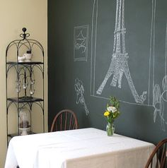 Basement Kitchen to French Cafe' - Welcome!