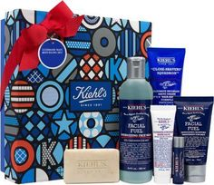 Kiehl's Ultimate Man Refueling Set - Rev him up to face every day with this collection of classic Kiehl's formulas for men! $59 at Barneys New York.