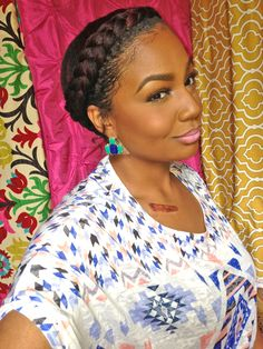 Eight Easy YouTube Tutorials Anyone Can Do | Natural Hair Styles