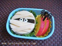 cute halloween bento idea