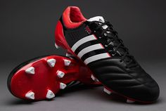 adidas 11Pro SL TRX FG Boots - Black/White/Red