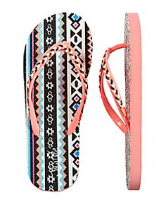 Multi Braided Tribal Flip Flops