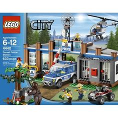 LEGO® City Forest Police Station 4440.  On sale $47.99 at Target but out of stock online