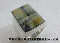 joyas para caballero con la piedra de Asturias. www.relojeriaceballos.com