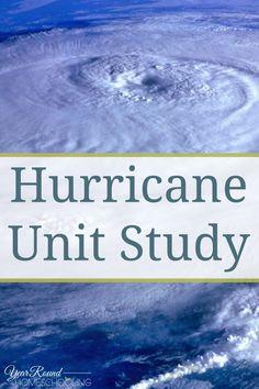 Hurricane Unit Study - #Hurricane #Unit #Help