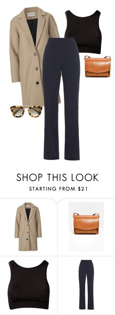 """0856-26072016"" by frederikke-e ❤ liked on Polyvore featuring MaxMara and Prada"