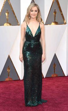 Oscars 2016: Red Carpet Arrivals 2016 Oscars, Academy Awards, Arrivals, Saoirse Ronan