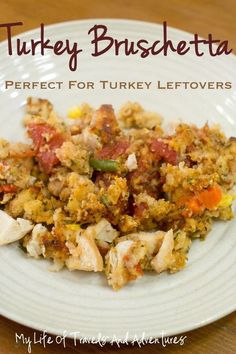 Turkey Bruschetta Casserole