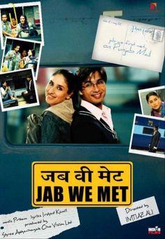 Jab We Met is my favorite Bollywood film! After all it has my favorite Bollywood actors Shahid Kapur and Kareena Kapoor. Best Bollywood Movies, Bollywood Actors, Bollywood Party, Vintage Bollywood, Bollywood Songs, Shahid Kapoor, Kareena Kapoor, Love Movie, Movie Tv