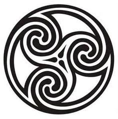 CELTIC CIRCLE KNOT OF ENERGIES, WATER