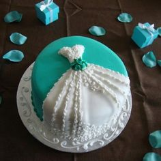 cute bridal shower cake idea other dress cakes on website