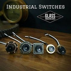 Pipe Lamp Switch Steampunk Lamp Parts https://www.etsy.com/listing/583621775/pipe-lamp-switch-industrial-lamp-switch #industriallamps