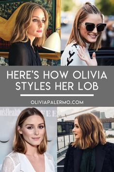Obsessed with Olivia's incredible lob? Find out exactly how she styles it.
