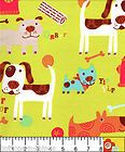 YIP-YIP DOG- Flannel Fabric, Dogs of all Sizes, By the Yard - Dogs, fabric, Flannel, Sizes, yard, YIPYIP