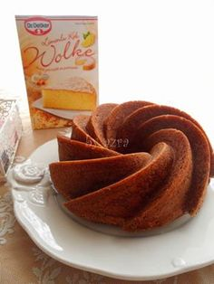 by azra: Wolke kek. Pasta Cake, Allrecipes, Tart, Recipies, Good Food, Food And Drink, Cooking, Breakfast, Ethnic Recipes