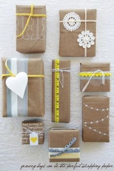 gift wrap/tag ideas by janette