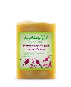 Sensitive Facial Acne Soap