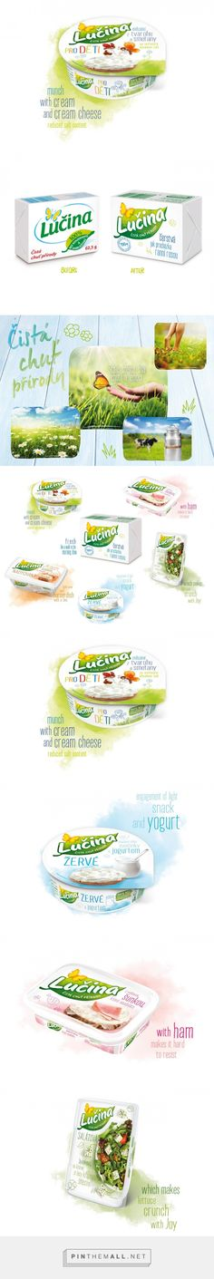 Lučina Redesign on Packaging of the World - Creative Package Design Gallery - created via http://pinthemall.net