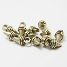 Base Metal Spacers-Conical or Spike 19x10mm (11364Y)